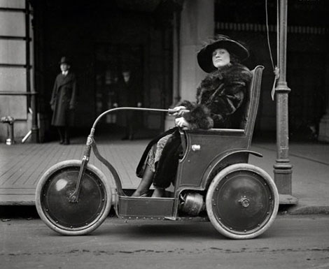 Woman in Tricycle, Property Management, Rochester, NY